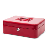 Cash box - red
