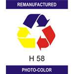 Label HP 58