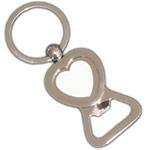 Metal keychain bottle opener for sublimation overprint
