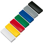 Colorful rectangular magnets