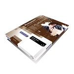 Double-sided photo paper for inkjet printers