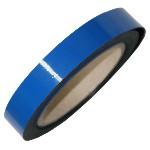 Dry erase magnetic strip - blue