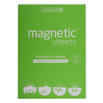 Magnetic sheets for laser printers