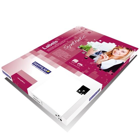Self-adhesive, polipropylene film for inkjet printers