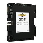 Gel cartridge for sublimation for Ricoh GC41 Compatible