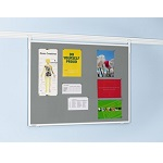 Lino-cork bulletin pinboard for Legaline PROFESSIONAL