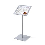 Outdoor menu stand with LED (2 x A4 size)