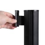 Barrier - flexi belt post