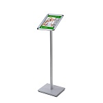 Menu stand with snap frame (A4 size)