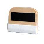 Wooden squeegee with felt 27cm