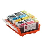 Set of edible cartridges Canon CLI 521 / PGI 520