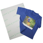 Laser 1 Opaque - Transfer paper for dark textiles for laser printers