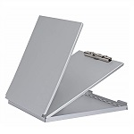 Aluminium clipboard MAULcase with storage box