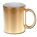 Pearl metallic sublimation mug