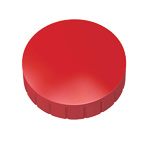 Round magnet 38 mm - 2 pcs red