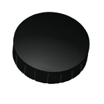 Round magnet 38 mm - 2 pcs black