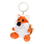 Key ring plushy fox with t-shirt for sublimation