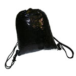 Shoe bag with two-color sequins for sublimation