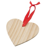 "Wooden hanger ""Heart"" to print"