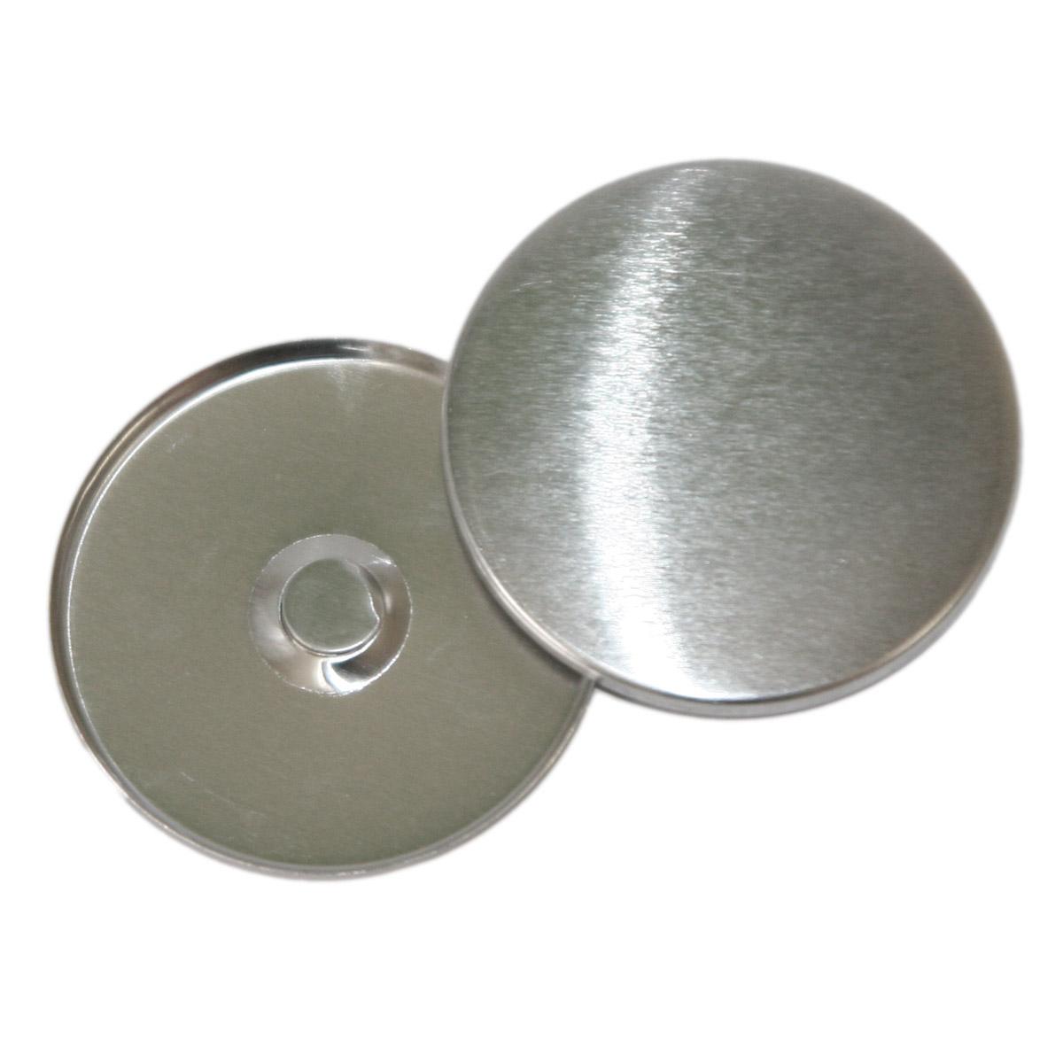 Components to badge machine with neodymium magnet