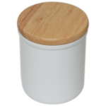 Jar for sublimation with wooden cap
