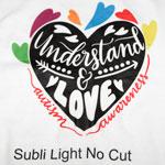 Subli Light No Cut - sublimation paper for cotton - 10 sheets