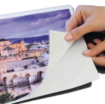 Self-adhesive lamination foil (125 microns) A4 size x 100 pcs