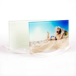 Glass picture frame for sublimation - cradle