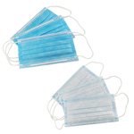 Disposable face protection mask