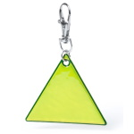 Reflective keyring - triangle