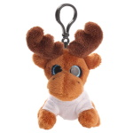 Key ring plushy reindeer with t-shirt for sublimation