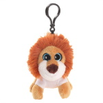 Key ring plushy lion with t-shirt for sublimation