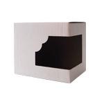 Box with window for mug