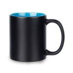 Matte color changing sublimation mug with color inside