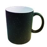 Glitter color changing sublimation mug