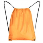 Drawstring bag with black string - 10 pieces