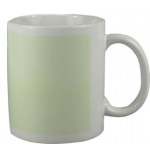 Glow in the dark mug for sublimation