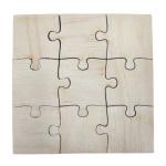 Wooden puzzles 9 elements (10 pieces)