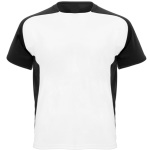 Sublimation T-shirt with colour side panels and sleeves