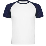 Kids' sublimation T-shirt with colour sleeves