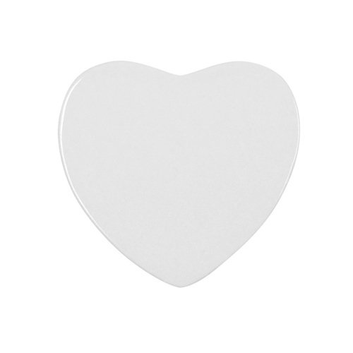 Sublimation ceramic fridge magnet - heart