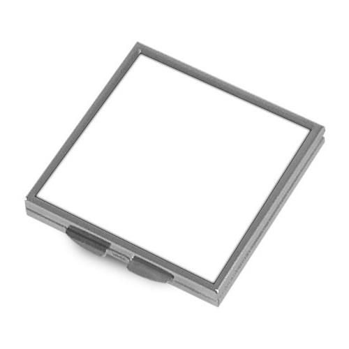 Metal mirror for sublimation - square