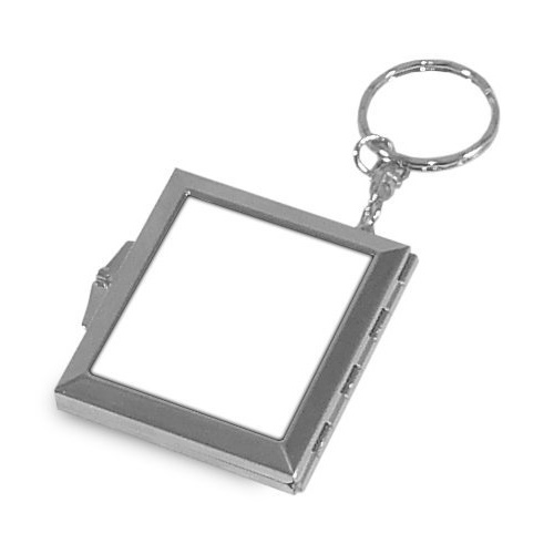 Sublimation metal keyring with mirror