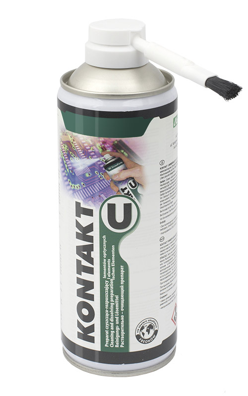 Kontakt U - solution for cleaning and degreasing electric and electronic contacts