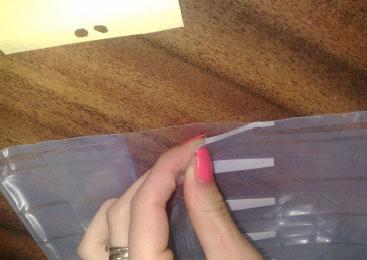 Multiple use Air Bag (large) for laser cartridges