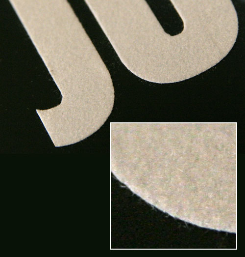 FiberStick flock self-adhesive film