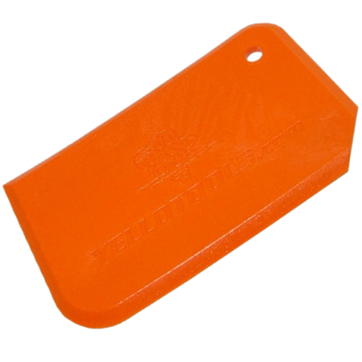 Plastic scraper Blade Orange