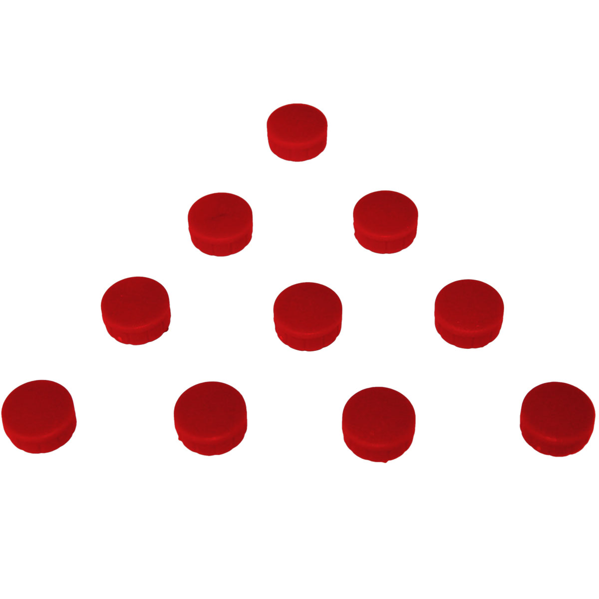 Red circle magnets