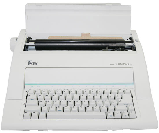 Typewriter Twen 180 Plus