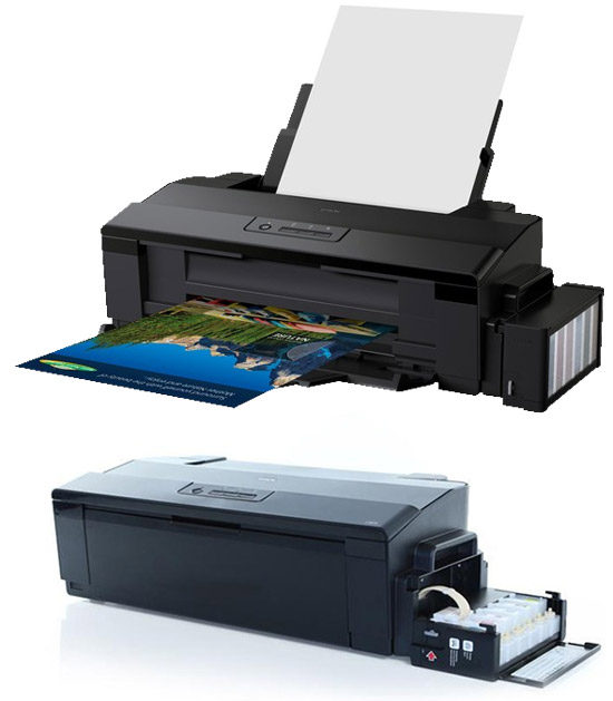 Epson L1800 printer for sublimation in set with additional accessories